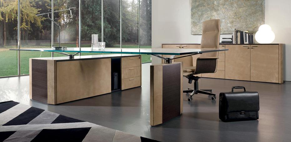 Mesas escrit rio moderna de symetria por i4mariani for Mesa escritorio moderna