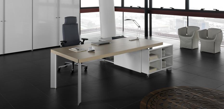 Mesas escrit rio moderna tay por dvo design perin topan for Mesa escritorio moderna
